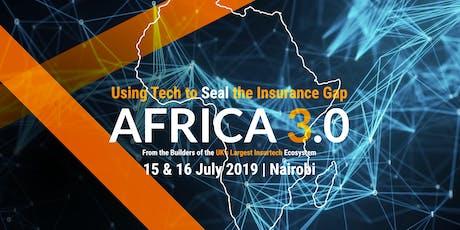AFRICA 3.0 tickets