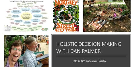 Holistic Decision Making with Dan Palmer tickets