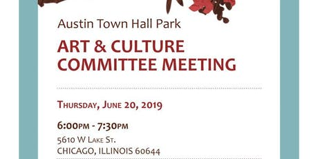 Austin Town Hall Art & Culture Meeting tickets