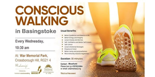 Conscious Walking at Basingstoke - A Powerful Dynamic Meditation Technique