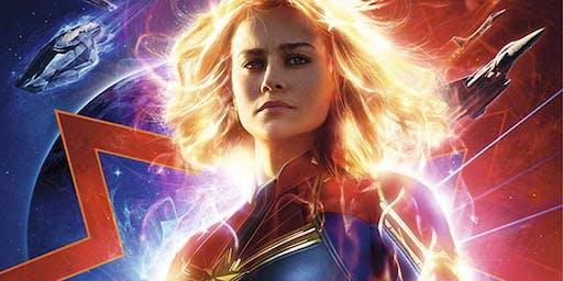 Hello Holidays: Captain Marvel movie screening