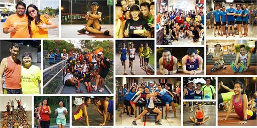 New Balance Run Club: Wednesdays @ Novena (July 2019)