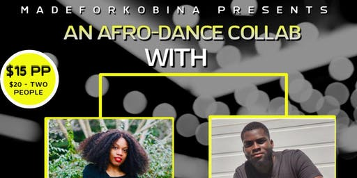 AfroDance Collab with AD & Nadia(06/22)- All levels (12:15PM CHECK IN)