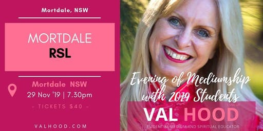An Evening of Mediumship - 29 November (Mortdale NSW)