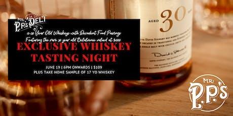Balvenie Whisky Degustation entradas