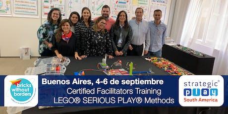 Certificación LEGO® SERIOUS PLAY® en Equipos y Grupos. Buenos Aires (Argentina) entradas
