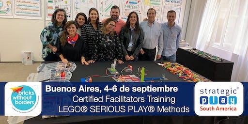Certificación LEGO® SERIOUS PLAY® en Equipos y Grupos. Buenos Aires (Argentina)