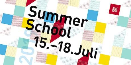 SUMMER SCHOOL +++ MODE DESIGN (B.A.) Tickets