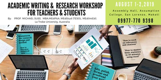 Academic Writing & Research Workshop for Teachers & Students