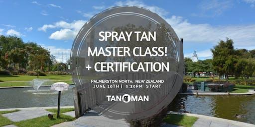 Spray Tan Master Class | Palmerston North, NZ