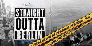 STRAIGHT OUTTA BERLIN Party | 20.07.19 | Cassiopeia...