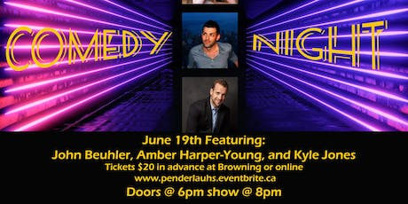 Comedy night at Browning tickets