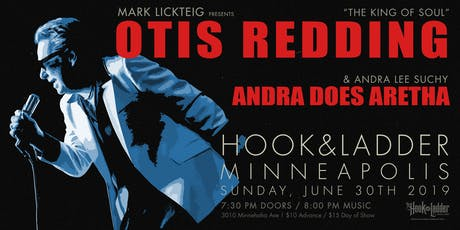 "Mark Lickteig presents Otis Redding ""The King of Soul"" tickets"
