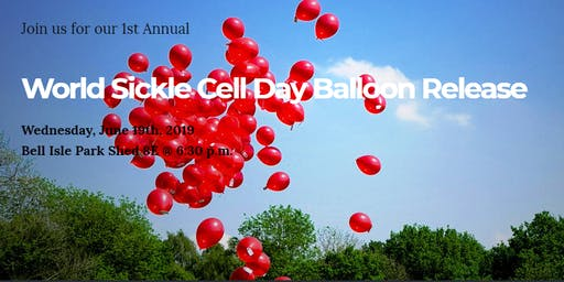 World Sickle Cell Day Balloon Release!