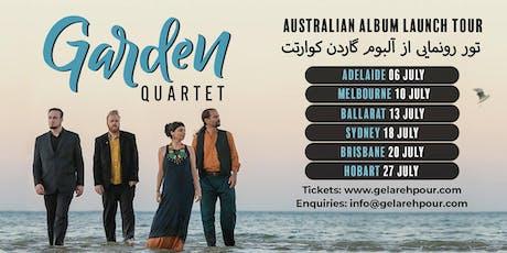 BEMAC presents Garden Quartet (Melb) live in Brisbane tickets