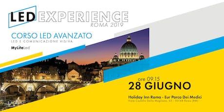 LED EXPERIENCE | ROMA 2019 biglietti