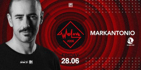 WeLove #206 // Markantonio (Analytic Trail, ITA) tickets