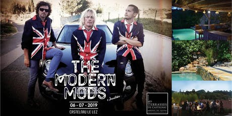 "CONCERT PRIVÉ ""THE MODERN MODS"" + REPAS  billets"