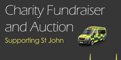 Charity Fundraiser and Auction - St John tickets