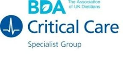 Critical Care Specialist Group (CCSG) of the BDA Study Day 2019