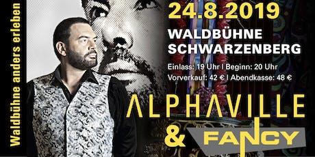ALPHAVILLE & FANCY // Waldbühne Schwarzenberg Tickets