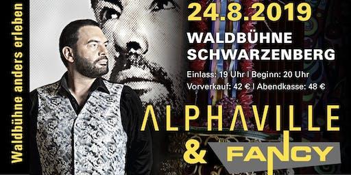 ALPHAVILLE & FANCY // Waldbühne Schwarzenberg