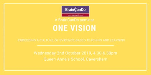 One Vision: Embedding a culture of evidence-based teaching and learning