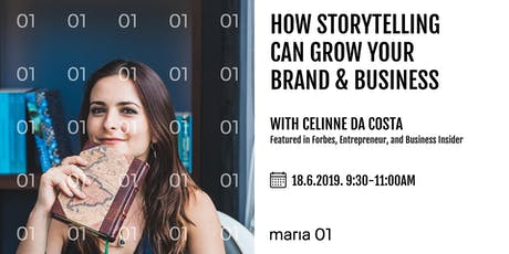 How Storytelling Can Grow Your Brand & Business tickets