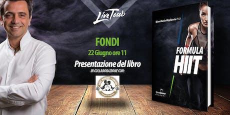 FONDI | Presentazione libro Formula HIIT  biglietti