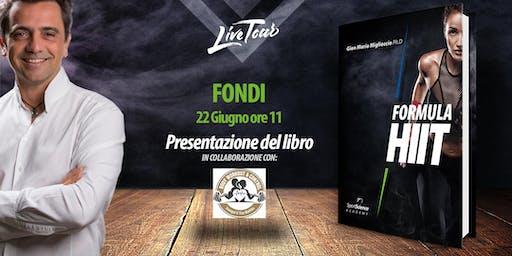FONDI | Presentazione libro Formula HIIT