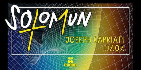 SOLOMUN + 1 Joseph Capriati tickets