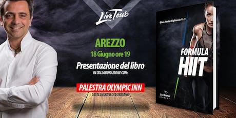 AREZZO | Presentazione libro Formula HIIT  biglietti