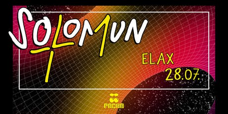 SOLOMUN + 1 Elax tickets