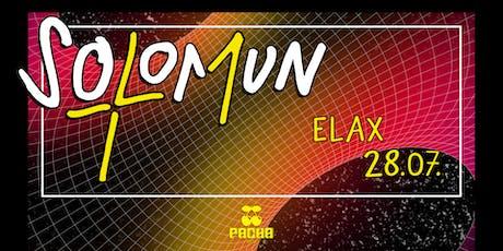 SOLOMUN + 1 Elax tickets