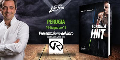 PERUGIA   Presentazione libro Formula HIIT