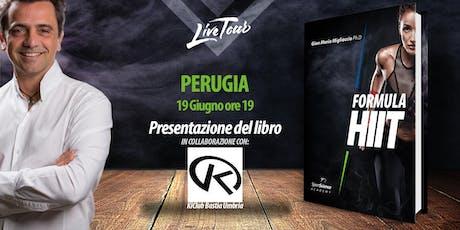 PERUGIA | Presentazione libro Formula HIIT  biglietti