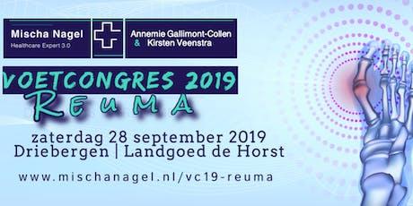 Voetcongres 2019 - Reuma tickets