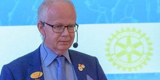 Distriktsguvernör Jerry Brattåsen gästar klubben