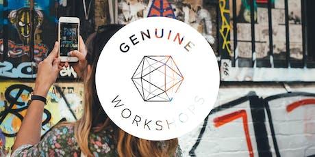 GENUINE WOKSHOP - Instagram et moi!  billets