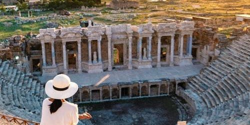 Hierapolis & Travertines of Pamukkale: Day Tour from Bodrum