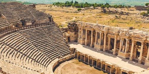 Hierapolis & Travertines of Pamukkale: Day Tour from Antalya