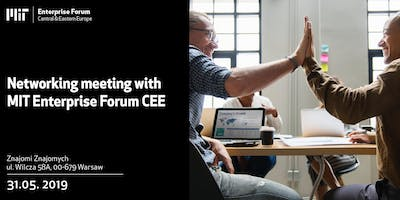 Networking meeting with MIT Enterprise Forum CEE