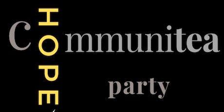 Communitea Party tickets