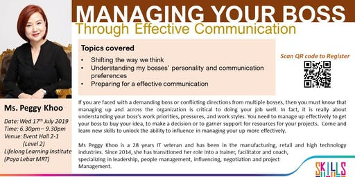 Managing Your Boss Through Effective Communication