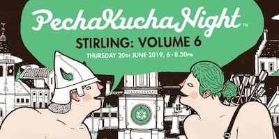 Pecha Kucha Stirling Volume 6