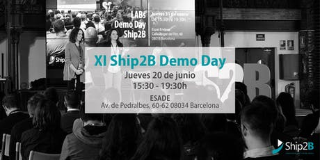 XI Ship2B Demo Day entradas