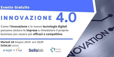 Innovazione 4.0 biglietti