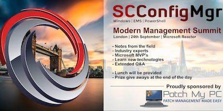 SCConfigMgr - Modern Management Summit tickets