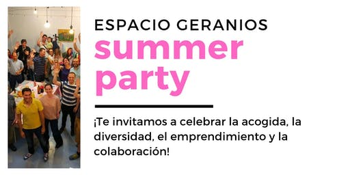 Summer Party y Mercadillo de Emprendedores