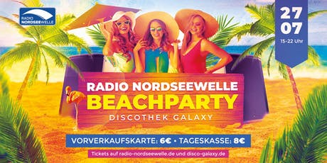 Radio Nordseewelle | Beach Party 2019 Tickets